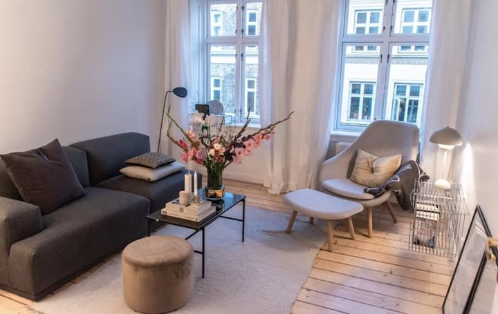 3 room apartment in amazing Vesterbro in Cph