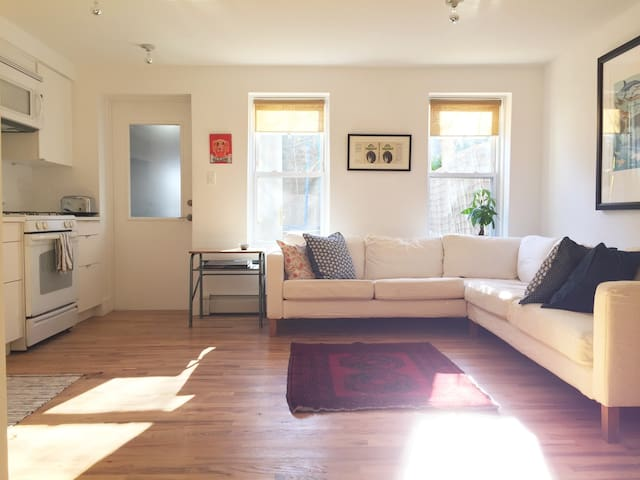 An Entire Lovely Crown Heights Garden Apartment