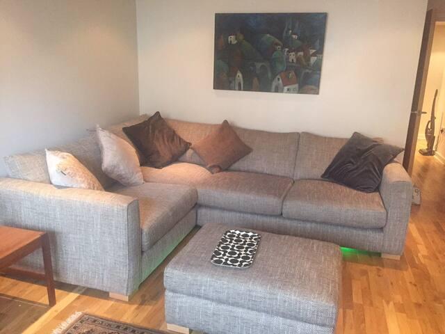 super sized sofa