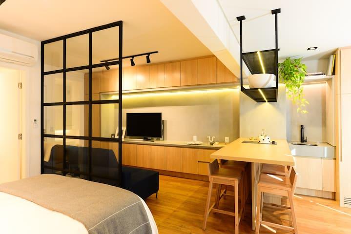 Apartamento Conceito, Novo e com Vista
