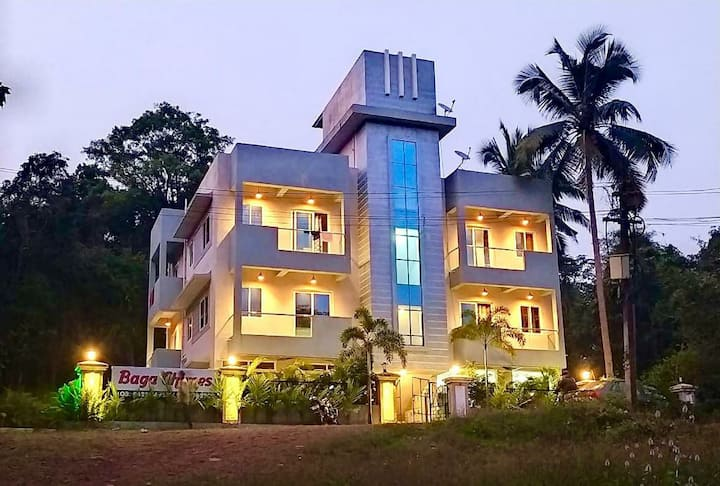 Baga Chimes 💕 8 BHK Private Villa - Baga Beach