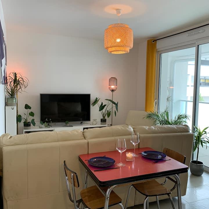 Appartement Neuf T2 40m2 centre ville