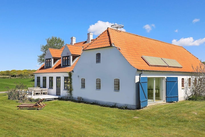 Modern Holiday Home in Syddanmark with Terrace