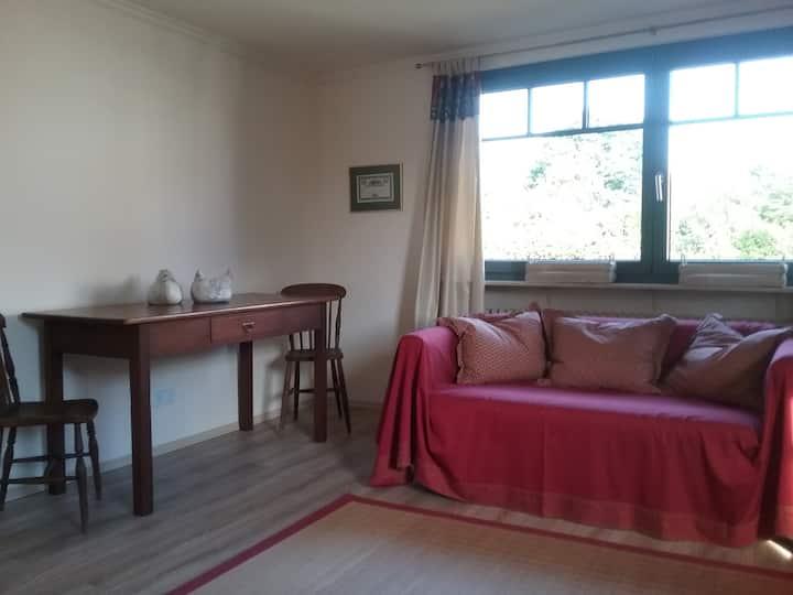 Ruhige 2-Zimmer-Wohnung für Gartenfreunde