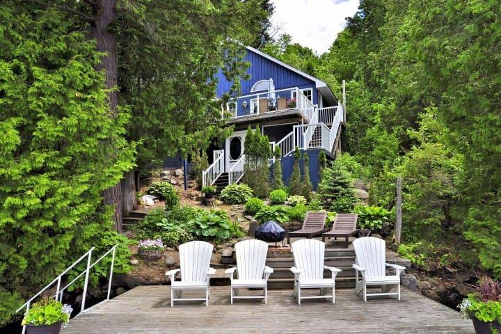 Treehouse Lakefront Cottage - Minden