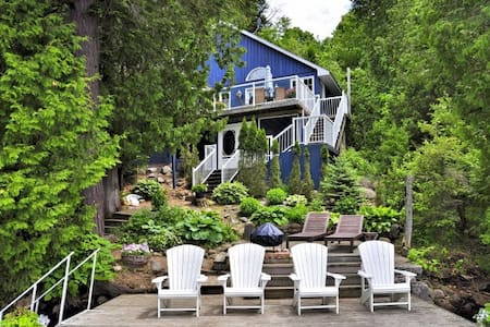 Treehouse Lakefront Cottage - Minden - บ้าน