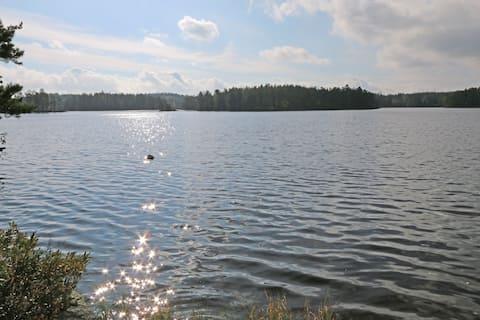 Kvarnstugan (The Mill Cabin) - Egen badplats!