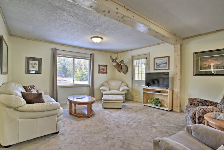 Secluded Home 15 Min. from Lake Nebagamon!