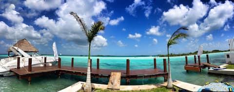Habitación Tropical Blue Bird Bacalar
