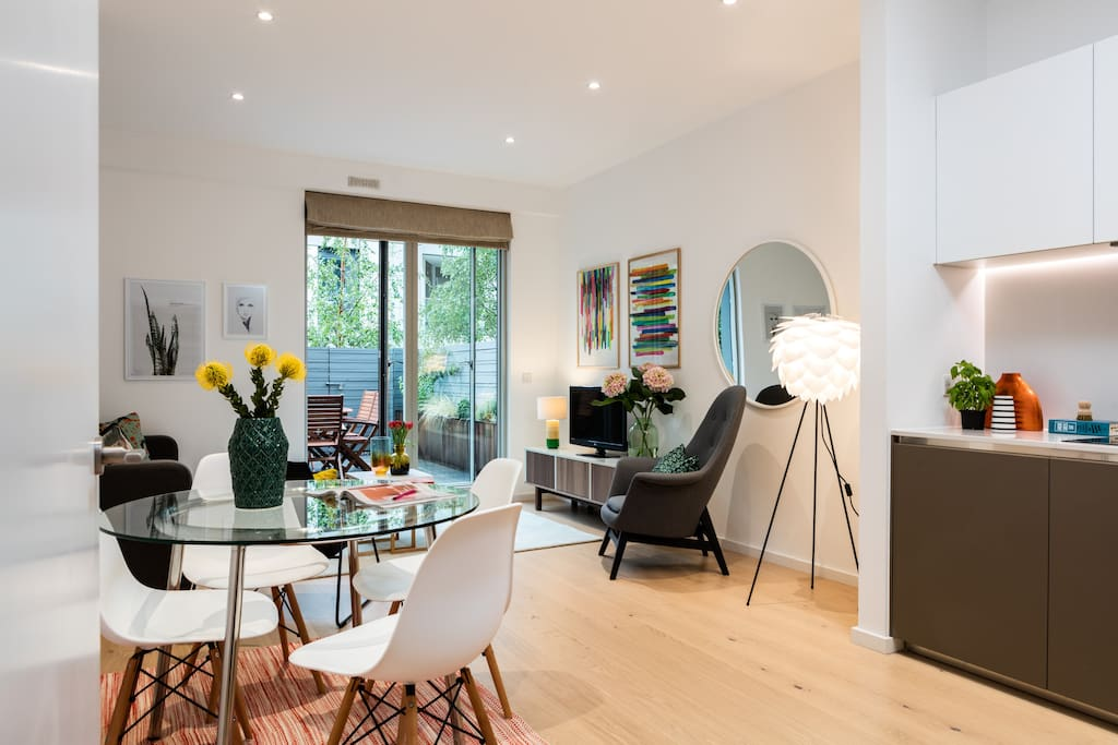 Foyer Apartments Clapham South : Clapham south ground floor garden flat by tube