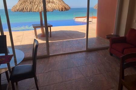 Condo on the Beach in Barra Navida Mexico.