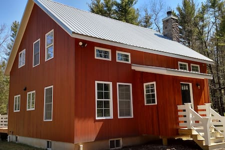 MODERN FARMHOUSE in the WOODS - Saugerties - Haus