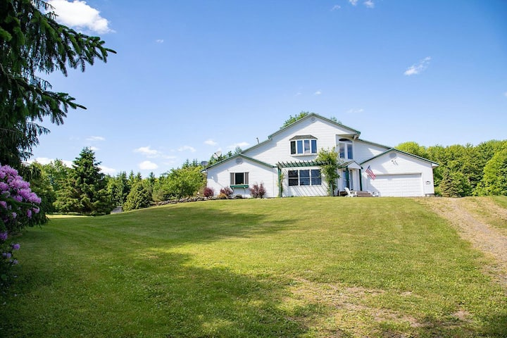 Scenic Country Home Minutes From Cooperstown
