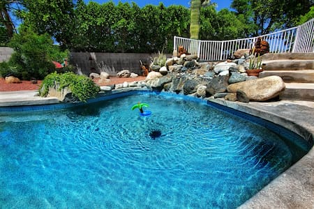 Spacious Home with pool and private gate.