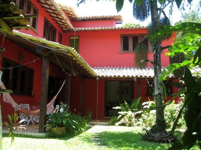 Casa linda em Trancoso a 4 minutos da praia - Trancoso - Apartment