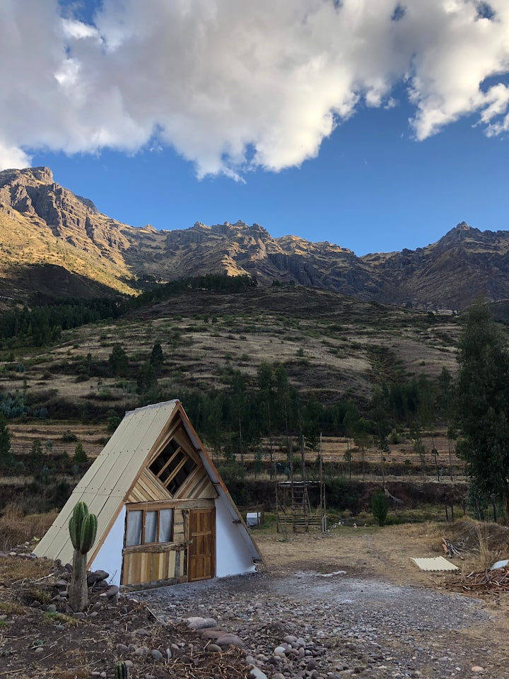 Cabin sacred valley