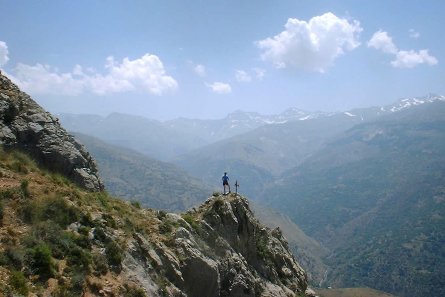 On top of the world - a local hike (photo by Roundthedowel)