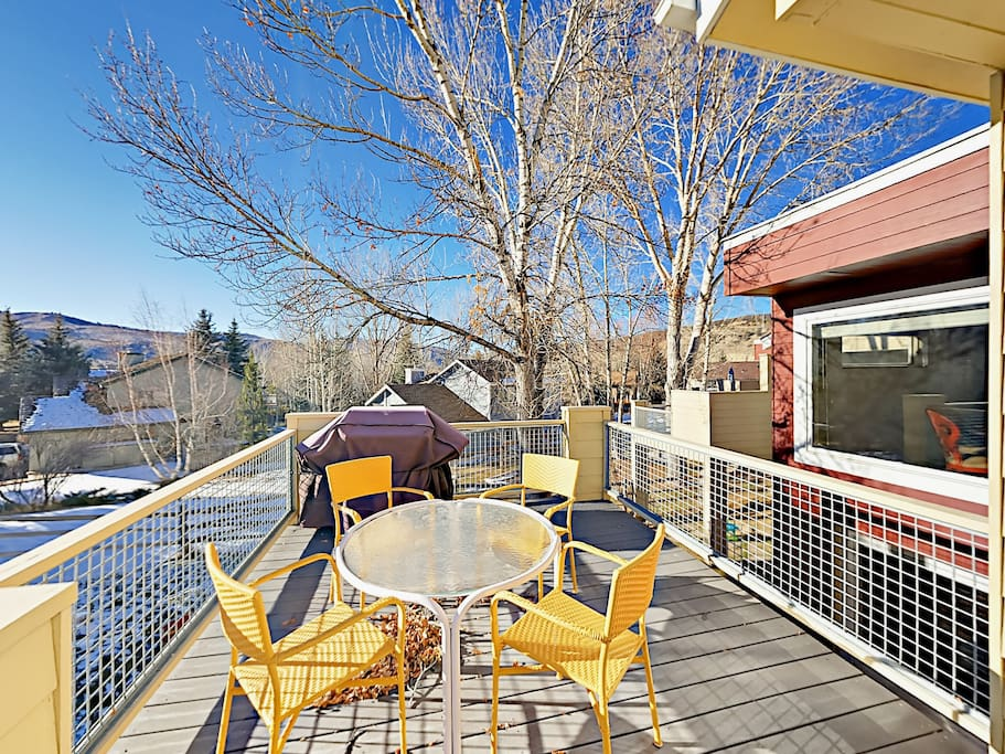 Relax on the deck and fire up the BBQ! This property professionally managed by TurnKey Vacation Rentals.