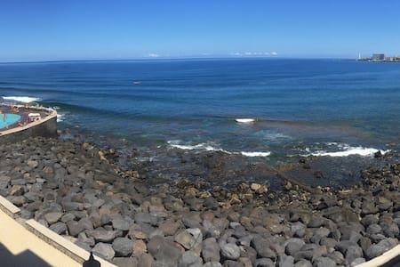 Precioso apartamento sobre el mar - Bajamar