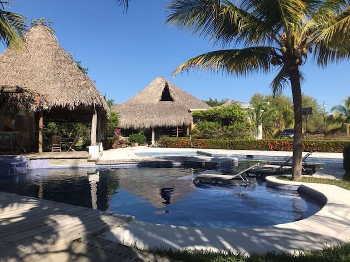 Beach House near Monterrico