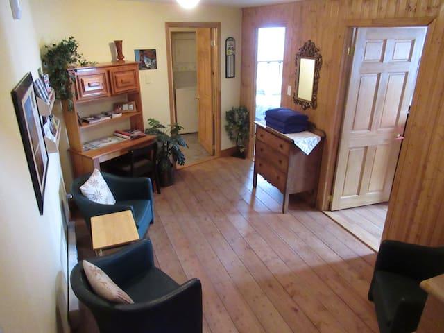 Salle familiale au sous-sol invitante