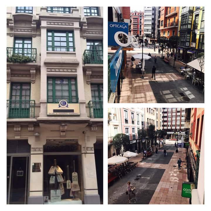 Precioso apartamento en pleno centro de Oviedo.