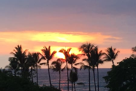 Best location on Kona side-Beach Villas at Kahaluu - Appartement