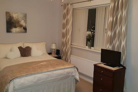 Cosy wee home from home- sleeps 1-4 - Paisley