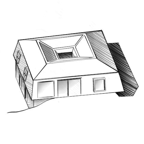 Maison d'architecte de type loft