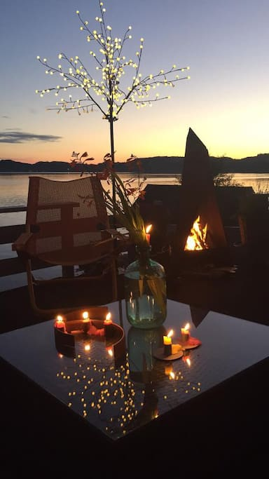 A magic night in Gismarvik