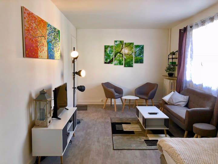 appartement 35m2 pour 2 à 4 persone