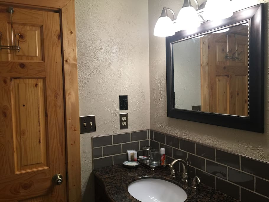 Remodeled private bathroom