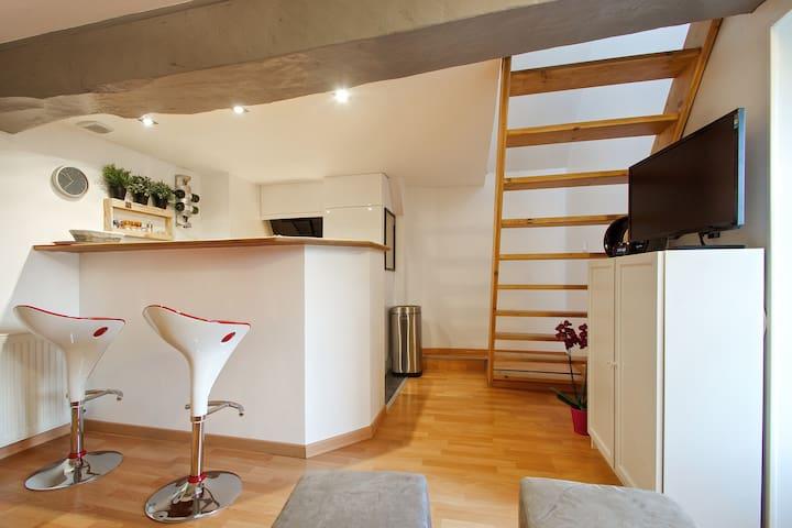 Vitré Rachapt Appart 2 Duplex - Vitré - Lägenhet