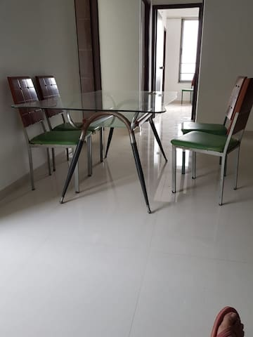 Cozy 3BHK Apt in Ahmedabad for long/short stay