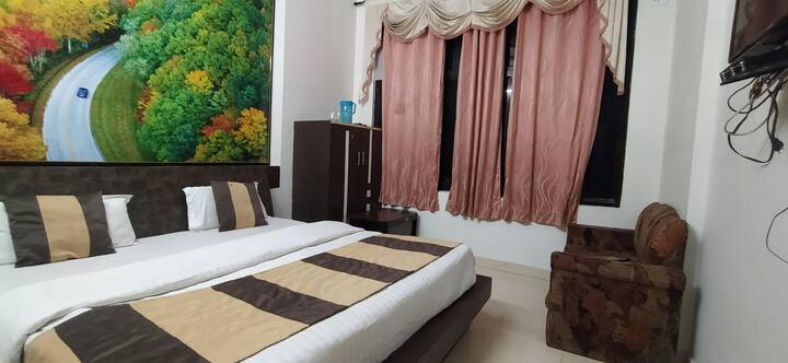 Ac Rooms at Hotel Shri Radhey Radhey