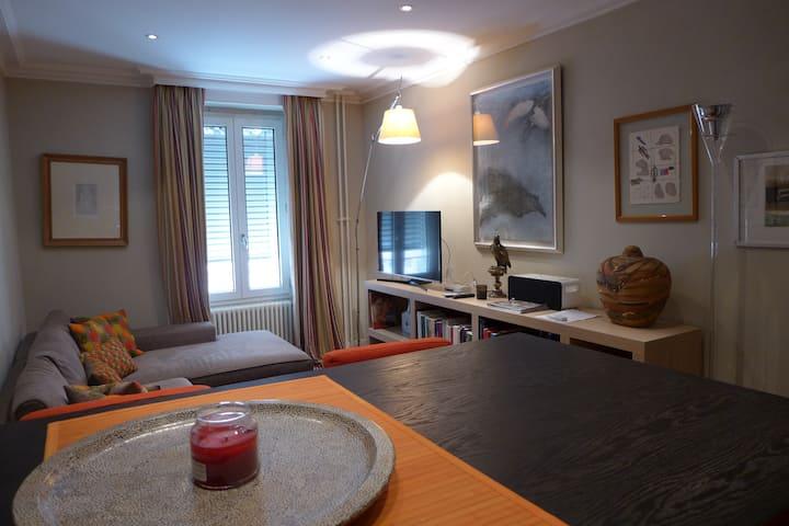 Comfortable 1 Room Apt near Jet d'Eau