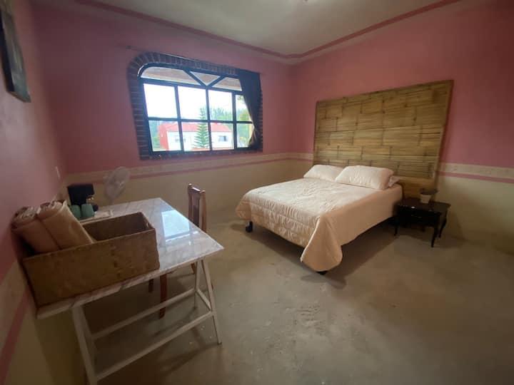 Habitación privada cerca del centro de Cuetzalan