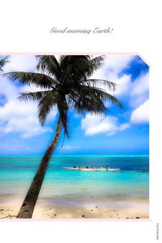 Oleai Beach Villa 景致迷人的私家海滩浪漫小屋E3 - Garapan, Saipan, MP - Rumah