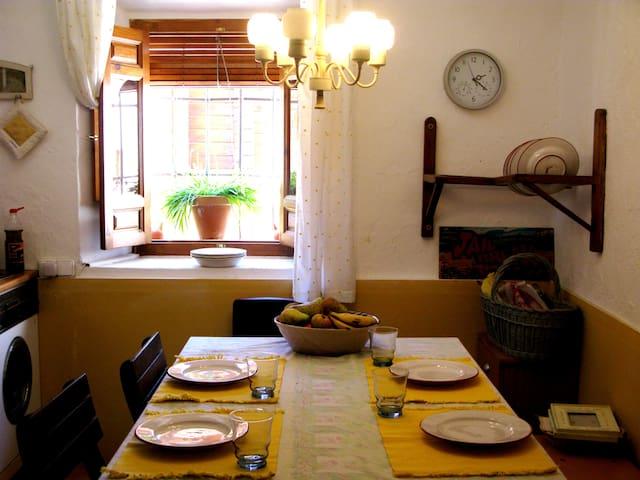 Cortijo en la Alpujarra Granadina - Albuñol - Huis
