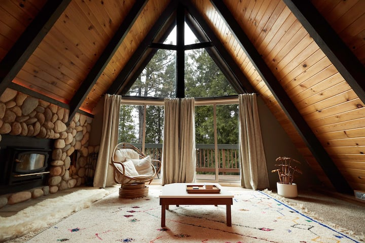 Sage Lodge A-frame Cabin