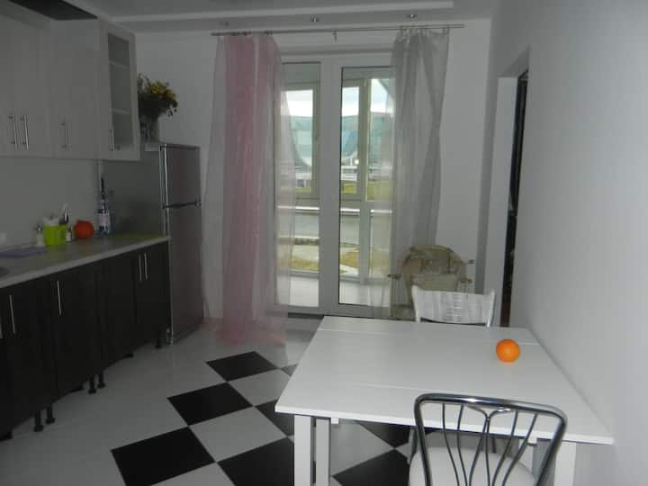 1-room flat Сrocus expo Mjakinino