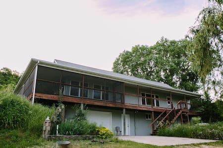 Willow House in Bellevue, Iowa