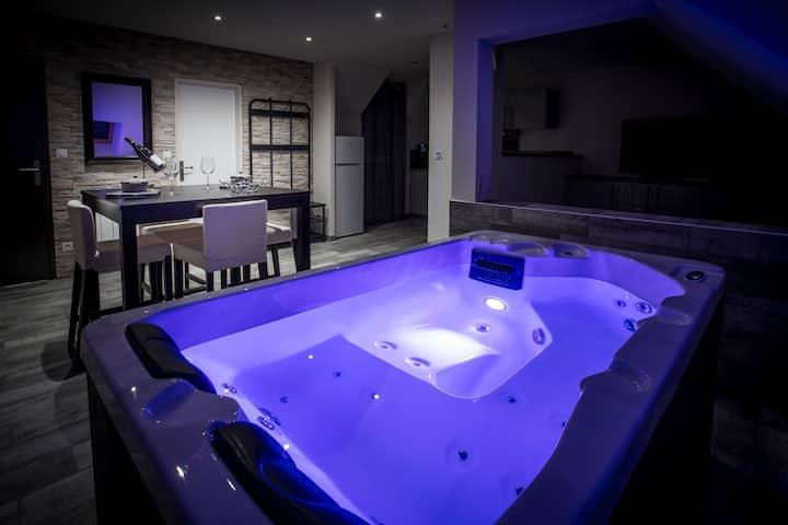 Loft avec spa privatif à 10 min de Dijon (VIP 2)