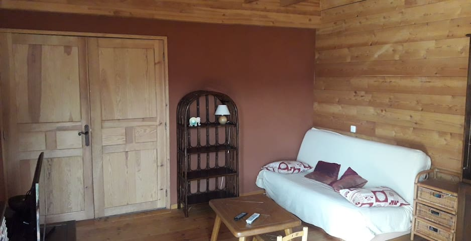 Maison type chalet au calme dans les Alpes du Sud