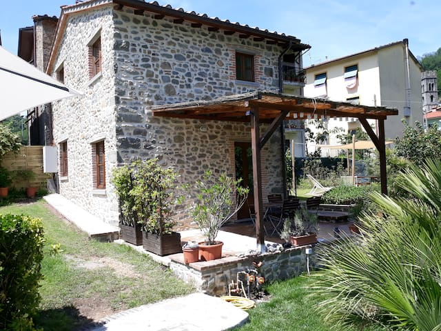 Modernised Barn Bagni Di Lucca