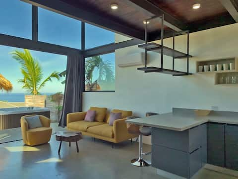 Casita Real Loft Style Cabin at Santa Teresa Beach