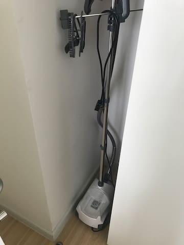 房间配备挂烫机