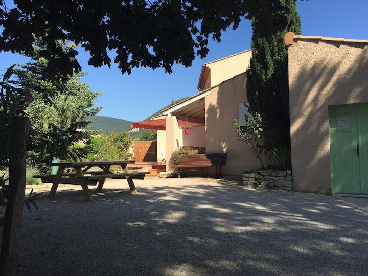 Villa L'Ardèchoise l'étape ViaRhôna