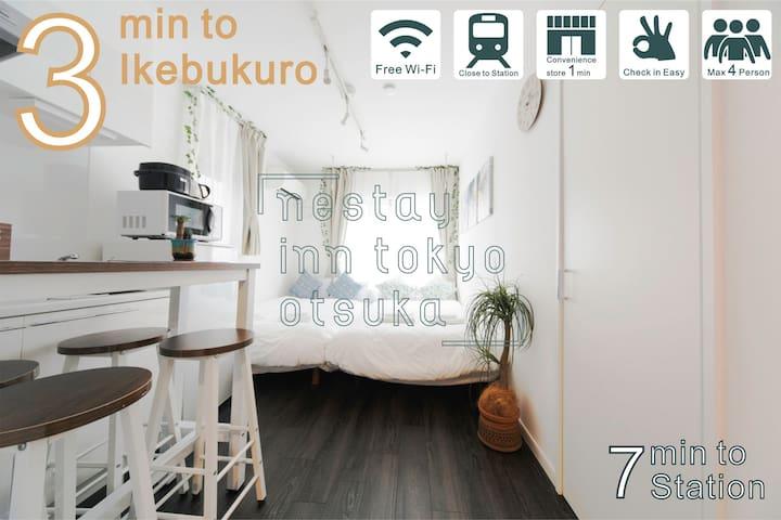 nestay inn tokyo otsuka 302☆New open