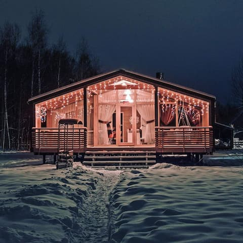 Unique Wooden Dream Home